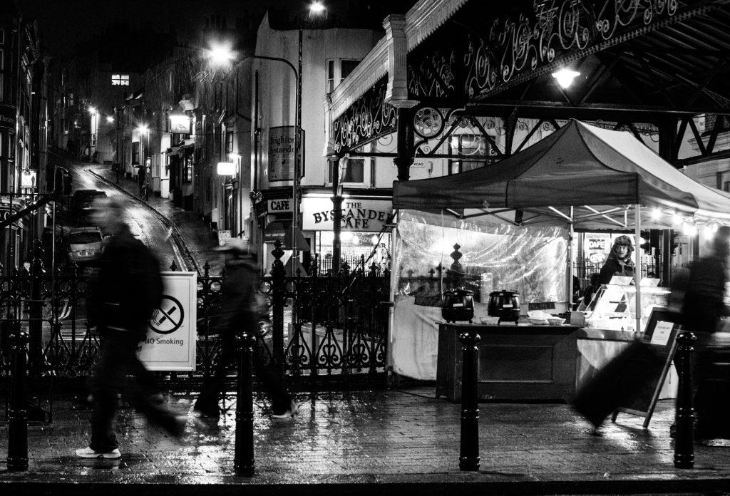 Brighton Station Rain