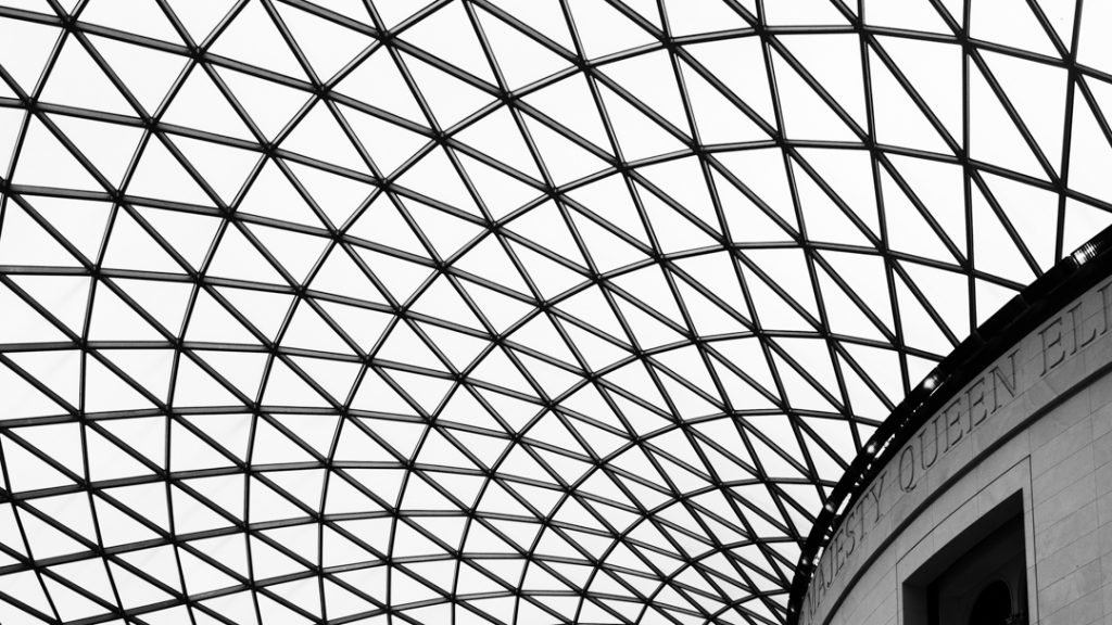 Great Court British Museum Detail