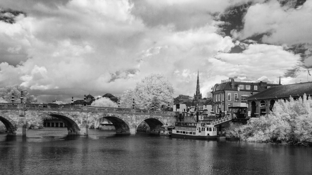 Welsh Bridge Infrared