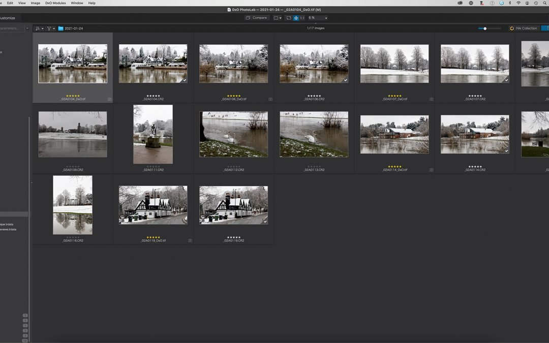 Library Management in DxO PhotoLab 4